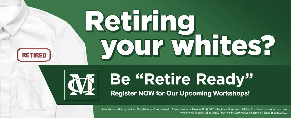 be retire ready mccarthy and cox