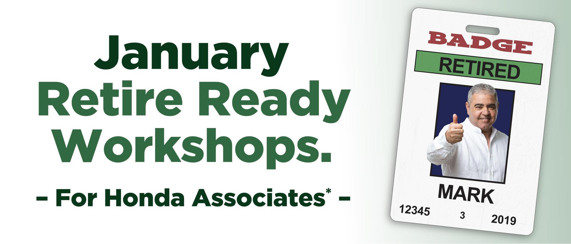 January Seminars