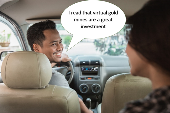 Virtual Gold_Sizzle and No Steak Blog